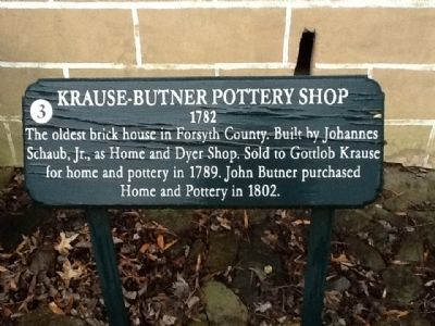 Krause-Butner Pottery Shop Marker image. Click for full size.