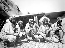 Tuskegee Airmen image. Click for full size.