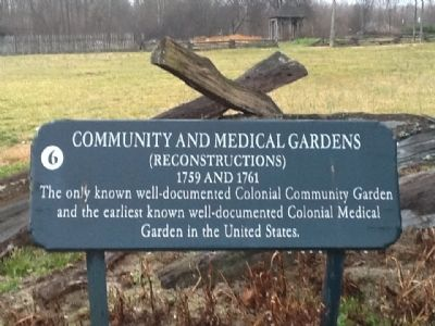 Community and Medical Gardens Marker image. Click for full size.