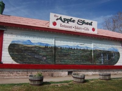Apple Shed Mural image. Click for full size.