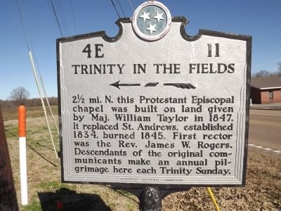 Trinity in the Fields Marker image. Click for full size.