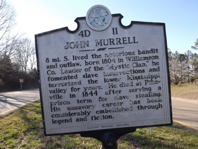 John Murrell Marker image. Click for full size.