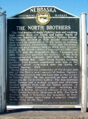 The North Brothers Marker image. Click for full size.