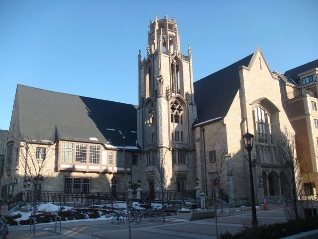 University Presbyterian Church and Student Center image. Click for full size.