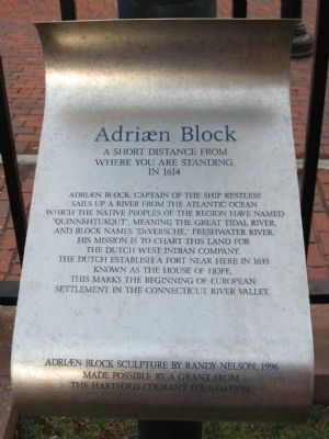 Adriaen Block Marker image. Click for full size.