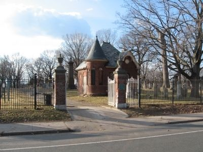 Old North Cemetery Entrance image. Click for full size.