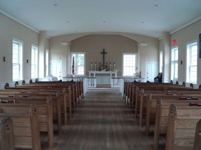 Inside Christ Church Chapel image. Click for full size.