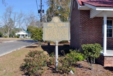 Minnie F. Corbitt Memorial Museum Marker image. Click for full size.