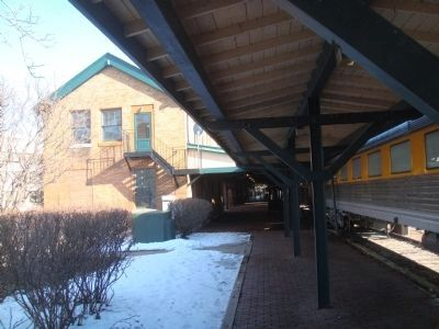 Milwaukee Road Depot image. Click for full size.