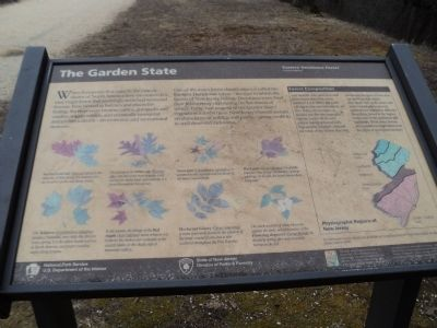 The Garden State Marker image. Click for full size.