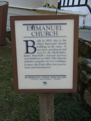 Emmanuel Church Marker image. Click for full size.