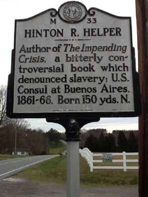 Hinton R. Helper Marker image. Click for full size.
