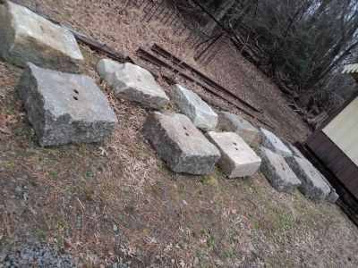 Stone Blocks from the C & A Railroad image. Click for full size.