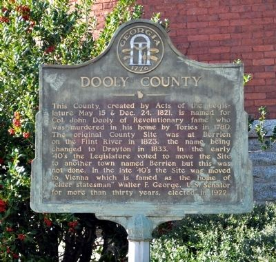 Dooly County Marker image. Click for full size.