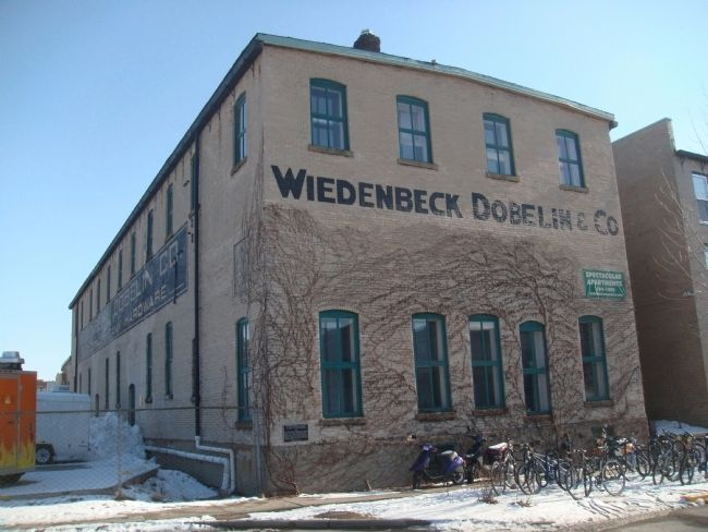 Wiedenbeck-Dobelin Warehouse Marker image. Click for full size.