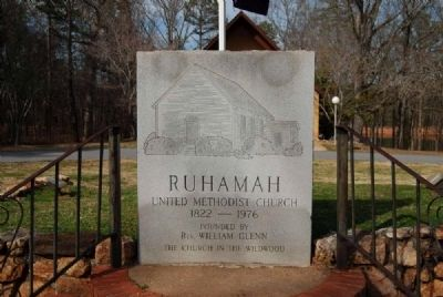Ruhamah United Methodist Church Marker image. Click for full size.