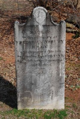 Frederick Asbury Riley Tombstone image. Click for full size.
