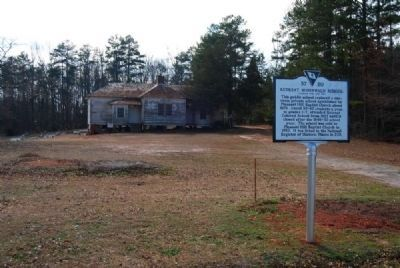 Retreat Rosenwald School and Marker image. Click for full size.