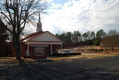 Pleasant Hill Baptist Church<br>Rosenwald School in Right Background image. Click for full size.