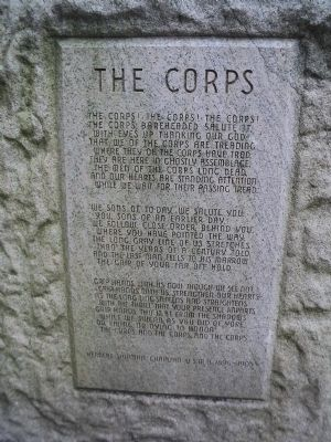 The Corps Marker image. Click for full size.