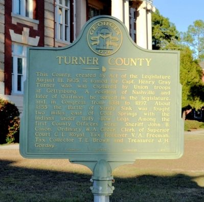 Turner County Marker image. Click for full size.