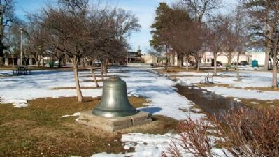 Grand Island Public School Bell image. Click for full size.