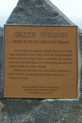 Green Springs Marker image. Click for full size.