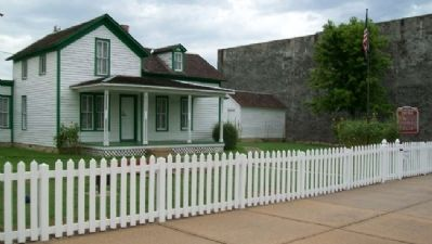 Boyhood Home of General Funston and Marker image, Touch for more information