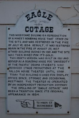 Eagle Cotage Marker image. Click for full size.