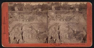 Placer Mining is Columbia circa 1860s. image. Click for full size.