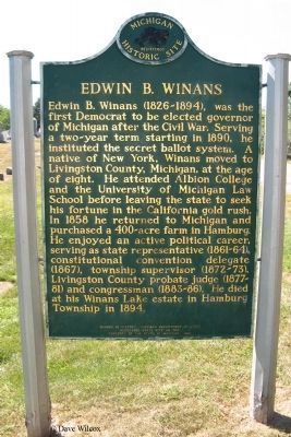 Edwin B Winans - Side B image. Click for full size.