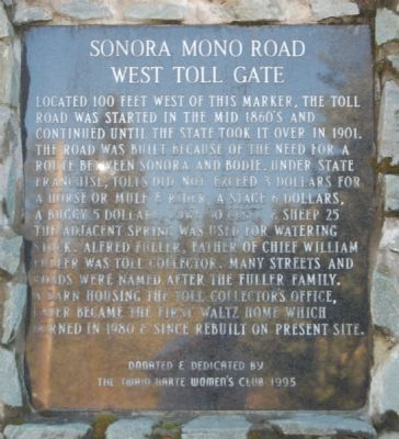 Sonora Mono Road Marker image. Click for full size.