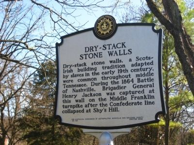 Dry-Stack Stone Walls Marker image. Click for full size.