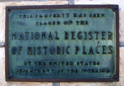 Brown Grand Theatre NRHP Marker image. Click for full size.