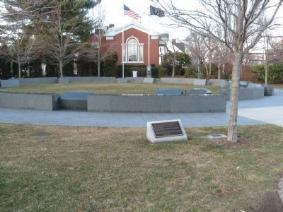 Connecticut Veterans Memorial West Hartford image. Click for full size.