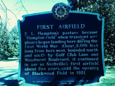 First Airfield Marker image. Click for full size.