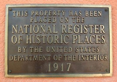 Union Pacific Railroad Passenger Depot NRHP Marker image. Click for full size.