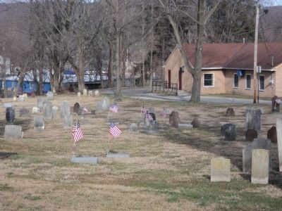 Old Presbyterian Burial Ground image. Click for full size.