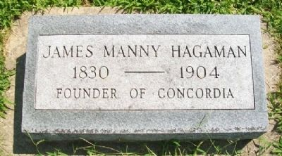 James Manny Hagaman Marker image. Click for full size.