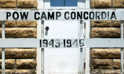 Camp Concordia Guard House Sign image. Click for full size.