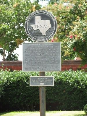 Eddleman-McFarland House Marker image. Click for full size.