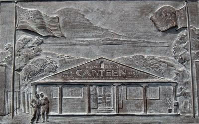 Martinez Troops-In-Transit Canteen - artwork on marker image. Click for full size.