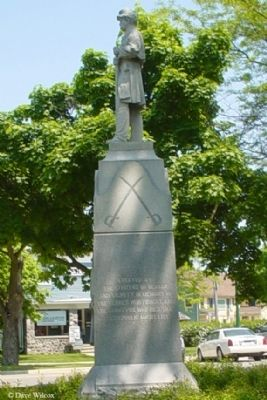 Dexter Area Civil War Memorial Marker image. Click for full size.