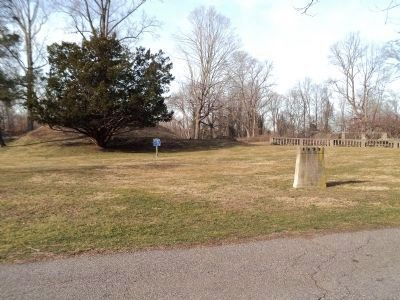 Marker in Fort Stamford Park image. Click for full size.