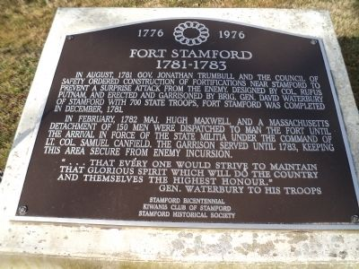 Fort Stamford Marker image. Click for full size.