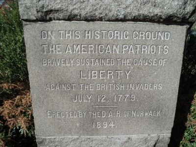 Battle of the Rocks Marker image. Click for full size.