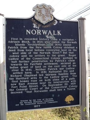 Norwalk Marker image. Click for full size.