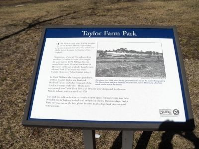 Taylor Farm Park Marker image. Click for full size.