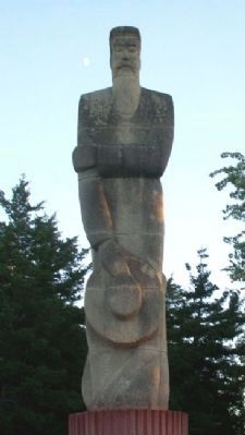 Mennonite Settler Statue image. Click for full size.