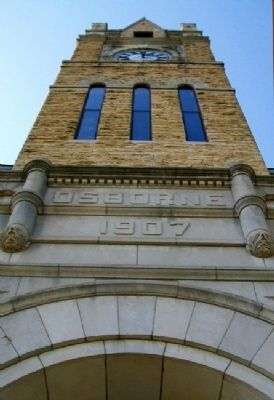 Osborne County Courthouse Tower image. Click for full size.